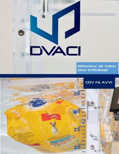 CDV FS AVVI Testeur de Fuites pour Emballages