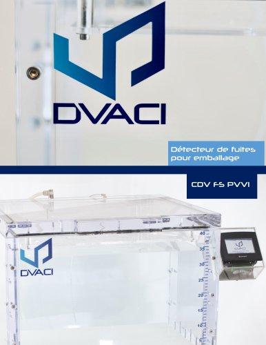 CDV FS PVVI Testeur de Fuites pour Emballages