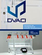 CDV PRESSURE - Simulateur de changement de pression atmosphérique