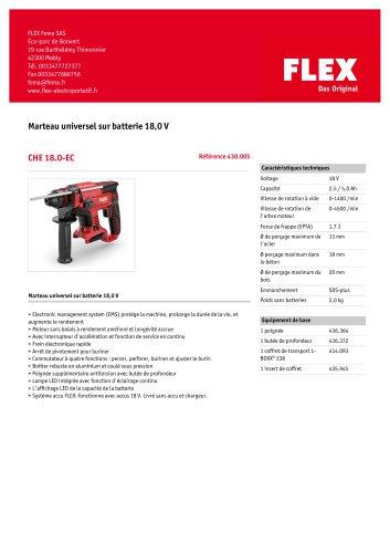 CHE 18.0-EC/5.0 Set