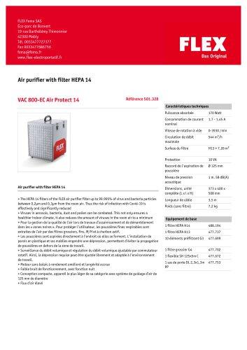 VAC 800-EC Air Protect 14
