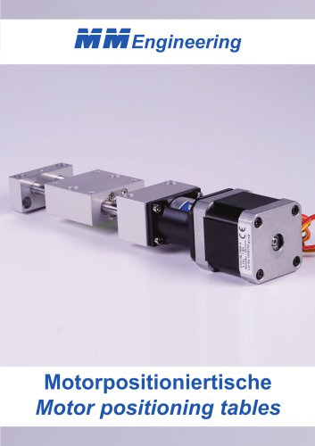 Motor positioning tables