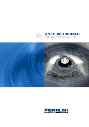 Séparateurs Centrifuges for applications industrielles