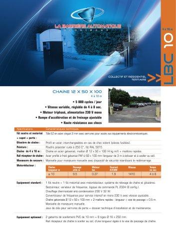 LBC 10 (Chaîne 12 x 50 x 100 - 4 à 10 m)