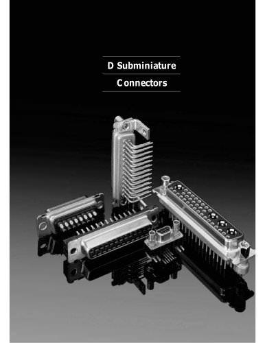 D-Sub Full Line Catalog