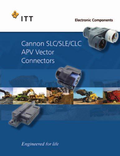 SLC/SLE/CLC/APV Vector Connector Catalog