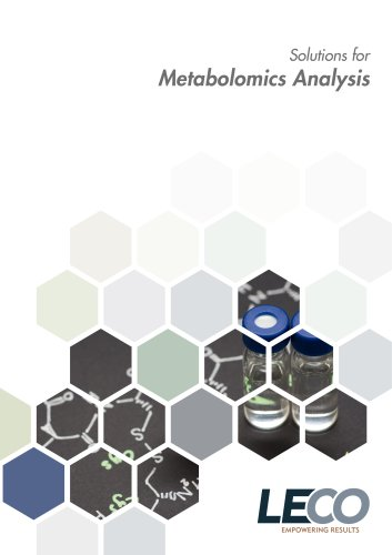 Metabolomics Solutions from LECO