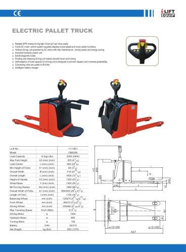 i-Lift Electric Pallet Truck CBD