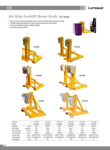 i-Lift/Hu-Lift Ali Grip Forklift Drum Grab DG360/DG720