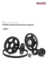 HT500 synchronous drive system