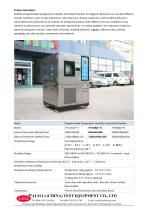 humidity and temperature test chamber / stability / temperature / environmental TH-408-F