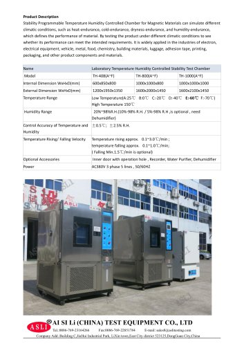 humidity test cabinet / climatic / humidity and temperature / solar simulation TH-1200-E