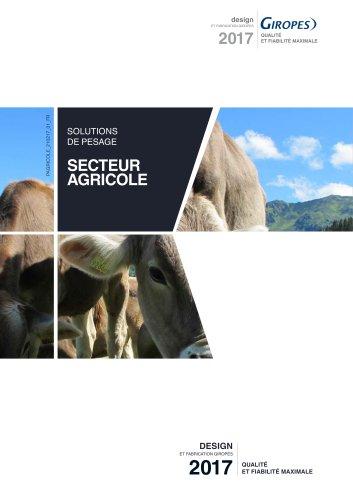 Secteur agricole