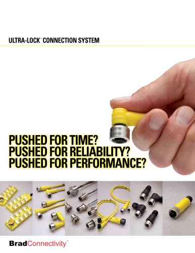 BradConnectivity Ultra-Lock connection system