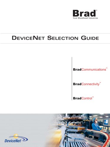 DeviceNet Selection Guide (for European standards)