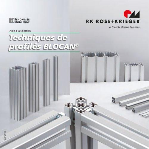 Aide à la sélection - technique de profiles BLOCAN®