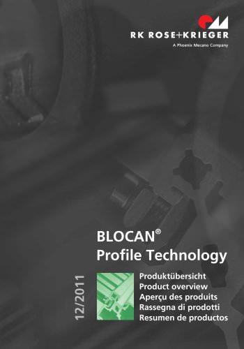 Aperçu des produits – Systèmes de profilés BLOCAN