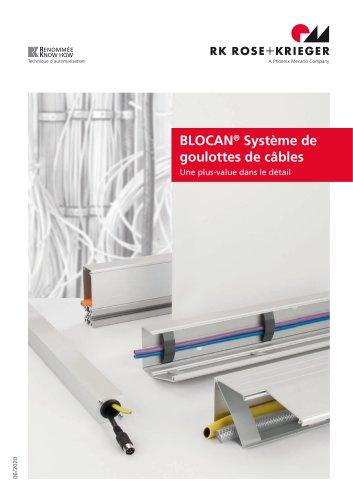 BLOCAN® - Système de caniveaux de câbles