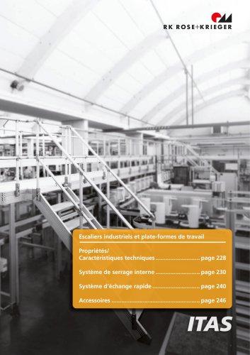 ITAS - Escaliers industriels et plateformes de travail