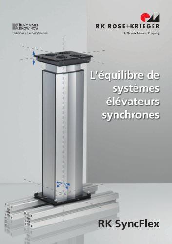 RK SyncFlex - L'équilibre de systèmes élévateurs synchrones