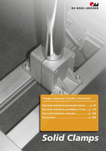 Système d'assemblage Solid Clamps (Aluminium)