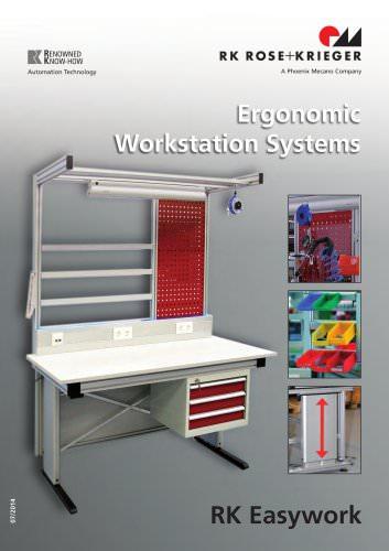 Systèmes de postes de travail - RK Easywork