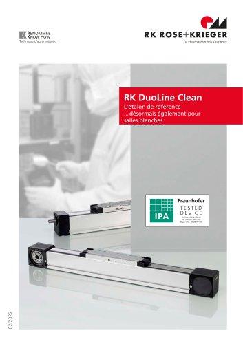 Unités linéaires RK DuoLine Clean