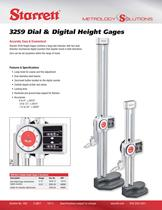 3259 Dial & Digital Height Gages
