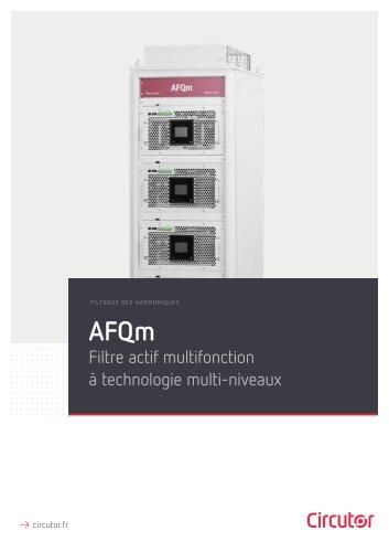 AFQm FILTRAGE DES HARMONIQUES Filtre actif multifonction à technologie multi-niveaux