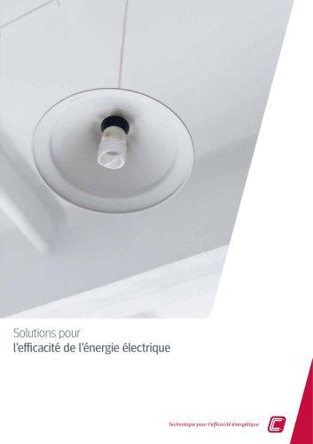 Solutions pour l'efficacité de l'énergie électrique