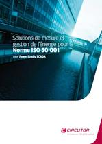 Solutions de mesure et gestion de l'énergie pour la Norme ISO 50001 ave PowerStudio SCADA