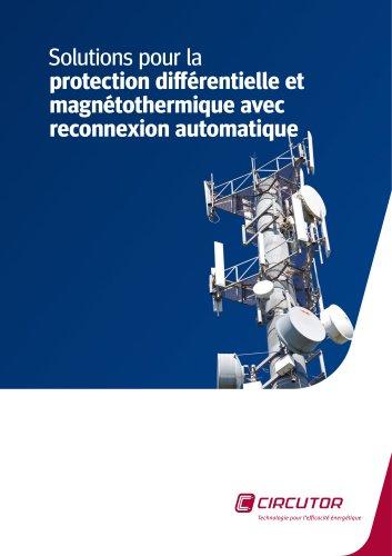 Solutions pour la protection différentielle et magnétothermique avec reconnexion automatique