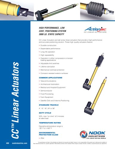 CC Linear Actuator