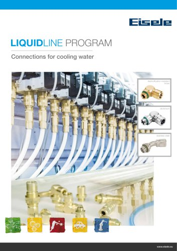 Liquidline - cooling water connectors