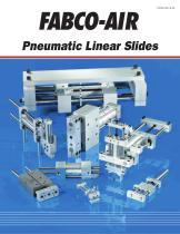 Pneumatic Linear Slides