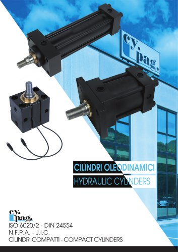 Cy.Pag. Hydraulic cylinders catalog 2017