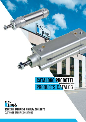Cy.Pag. Pneumatic Cylinders Catalog 2017