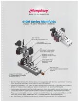 410M Series Manifold Brochure