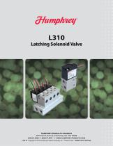 L310 Latching Solenoid Valve Brochure