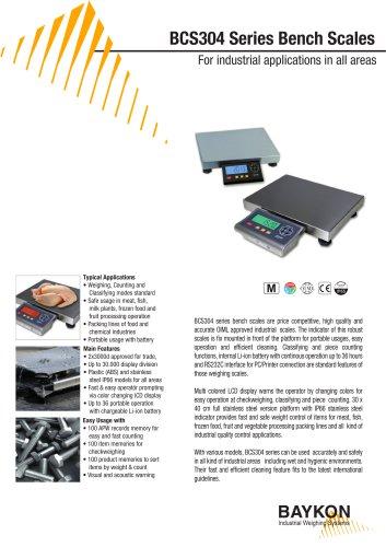 Baykon BCS304 Series Bench Scales