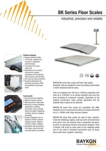 Baykon BK Series Floor Scales