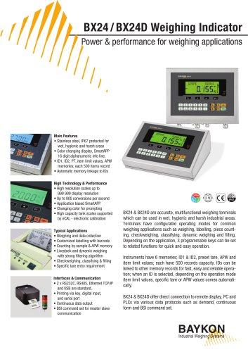 Baykon BX24 / BX24D Weighing Indicator