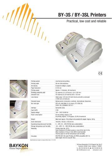 Baykon BY-3S Printer