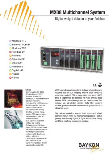 Baykon MX08 Multichannel System