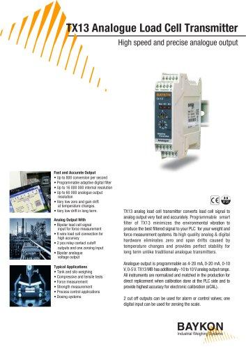 Baykon TX13 Load Cell Transmitters