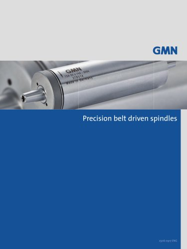 PRECISION BELT DRIVEN SPINDLES