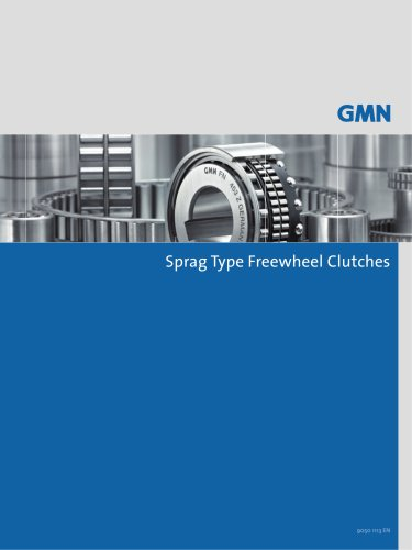 SPRAG TYPE FREEWHEEL CLUTCHES SERIES 400 AND 8000