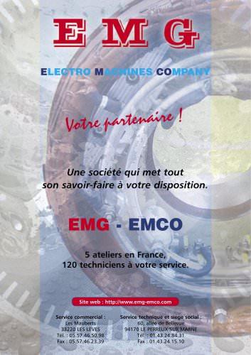 Catalogue  Général EMG