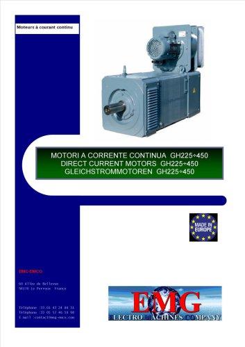 DIRECT CURRENT MOTORS GH225-450
