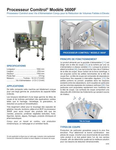 Processeur Comitrol® Modèle 3600F